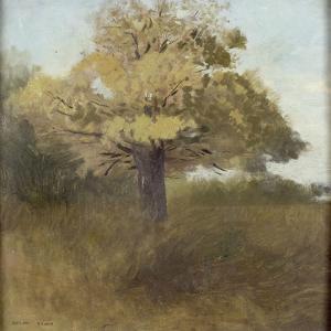 le chêne by Odilon Redon