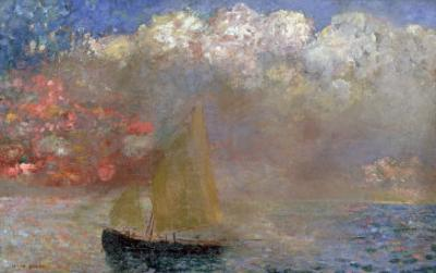 Le Voilier, 1900