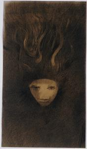 Medusa by Odilon Redon