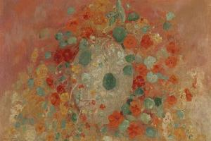 Nasturtiums, 1905 by Odilon Redon