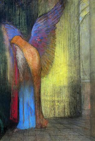 Old Man with Wings, 1895 by Odilon Redon