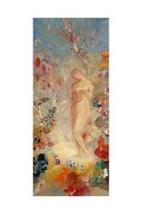 Pandora, c.1914 by Odilon Redon