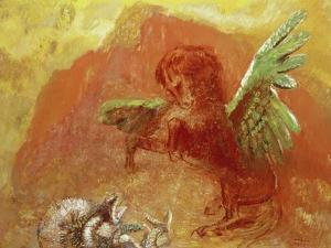 Pegasus Triumphant, 1905 by Odilon Redon