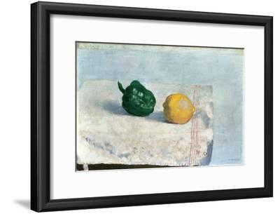 Pepper and Lemon on a White Tablecloth, 1901