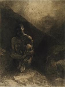 Primitive Man, 1872 by Odilon Redon