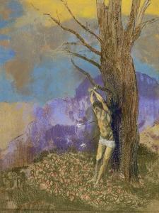 Saint Sébastien by Odilon Redon