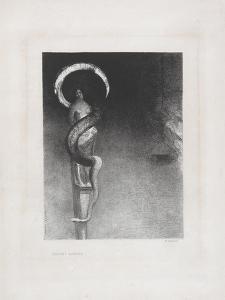 Serpent-Aureole, 1890 by Odilon Redon