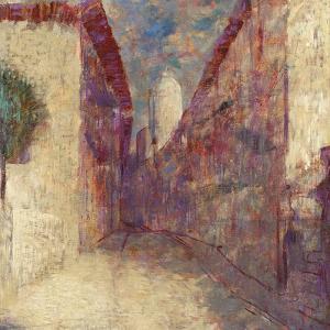 Street in Fontarabie by Odilon Redon