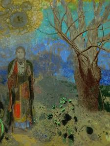 The Buddha, 1906-1907 by Odilon Redon