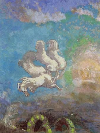 The Chariot of Apollo, circa 1905-14 by Odilon Redon