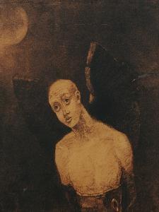 The Fallen Angel, 1871 by Odilon Redon