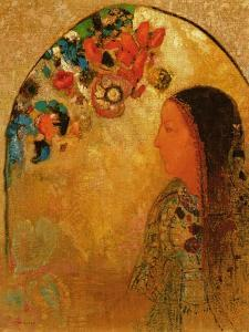 The Gothic Window, 1900 by Odilon Redon