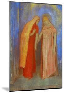 The Visitation by Odilon Redon