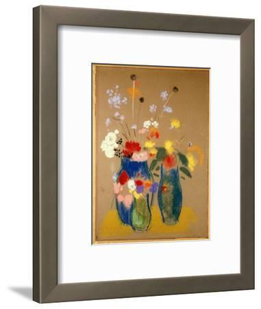 Three Vases of Flowers, C.1908-10