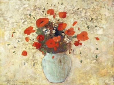 Vase of Poppies; Vase De Coquelicots, 1905-09