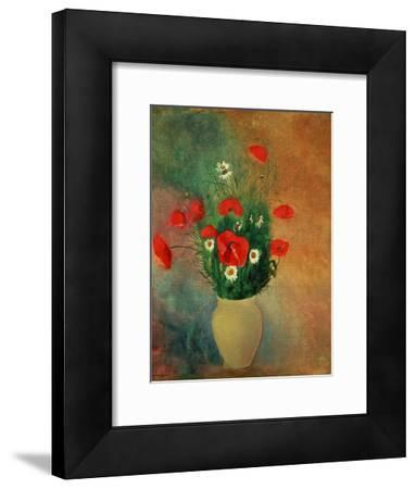 Vase with Red Poppies