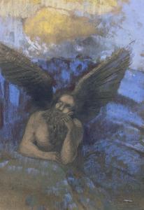 Vieil ange by Odilon Redon