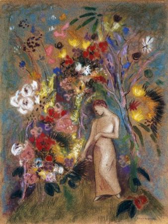 Woman in Flowers, 1904
