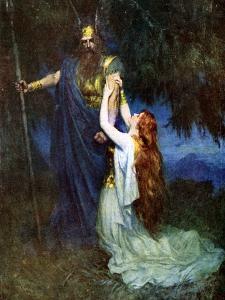 Odin and Brunhilde