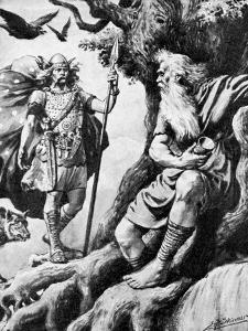 Odin (Wota), Norse God, C19th Century