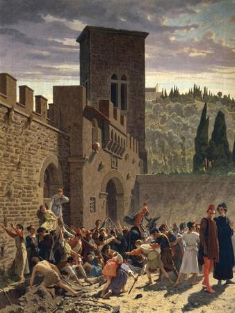 Digging Up of Jacopo Pazzi, 1864