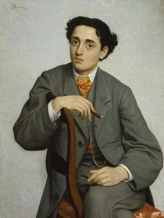 Portrait of Young Man with Cigar