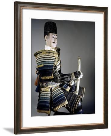 Odoshi Domaru, 15th Century Style Armor, Edo Period--Framed Giclee Print