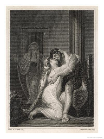 Odysseus Returns to His Wife Penelope-Issac Taylor-Giclee Print