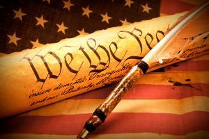 Us Constitution - We the People by oersin