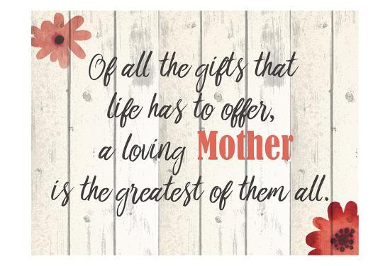 Of All The Gifts-Kimberly Allen-Art Print