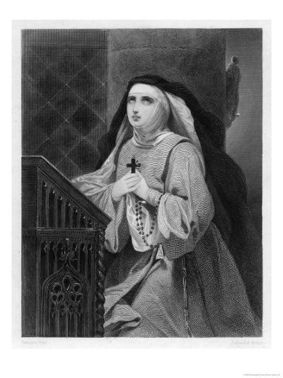 Of Avila Spanish Mystic and Saint- Schopin-Giclee Print
