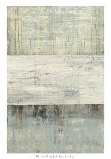 Of Fog & Snow-Heather Ross-Art Print