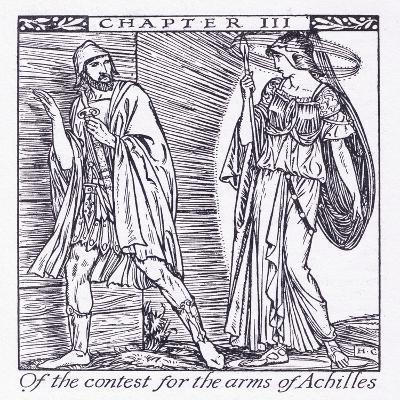 Of the Contest for the Arms of Achilles-Herbert Cole-Giclee Print