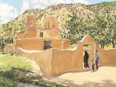 Oferta Para San Esquipula, 1918-Walter Ufer-Giclee Print