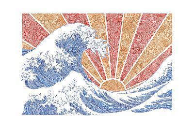 Off California-Viz Art Ink-Giclee Print