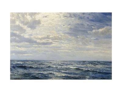 Off the Coast of Cornwall-Henry Moore-Giclee Print