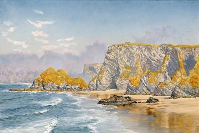 Off the Coast of Guernsey-John Brett-Giclee Print