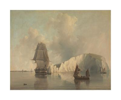 Off the Needles, Isle of Wight-E.W. Cooke-Premium Giclee Print