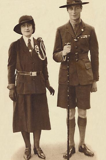 'Off to a Rally of Scouts and Guides', c1931 (1937)-Unknown-Photographic Print