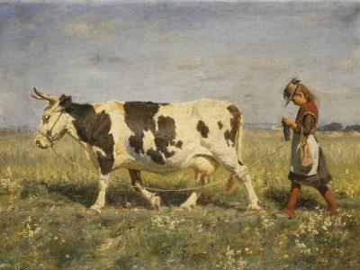 Off to Market-Hans Michael Therkildsen-Giclee Print