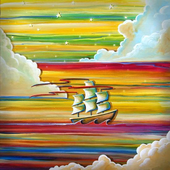 Off To Neverland-Cindy Thornton-Art Print