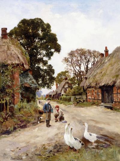 Off to School-Henry John Yeend King-Giclee Print
