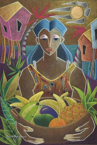 Offerings from Our Land-Oscar Ortiz-Giclee Print