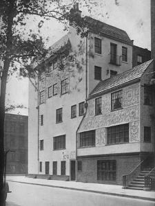 Office and residence of Frederick Sterner, New York, 1922