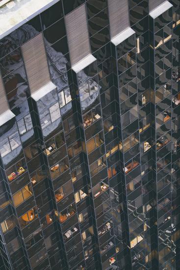 Office Building Design Abstract, San Francisco Financial District-Vincent James-Photographic Print
