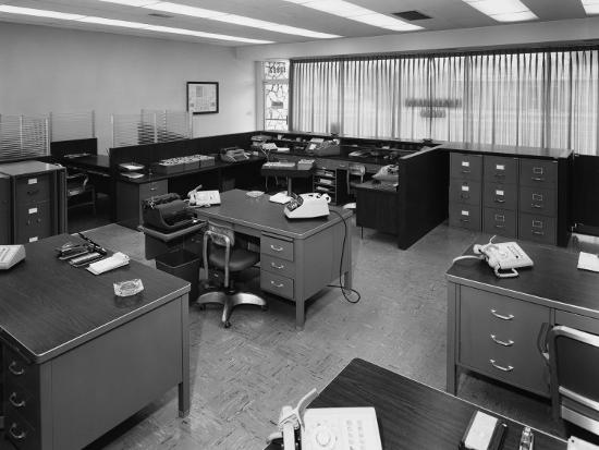 Office Furniture--Photographic Print