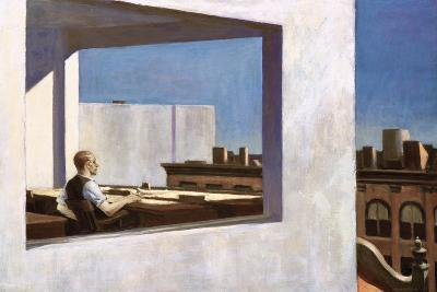 Office in a Small City, 1953-Edward Hopper-Giclee Print