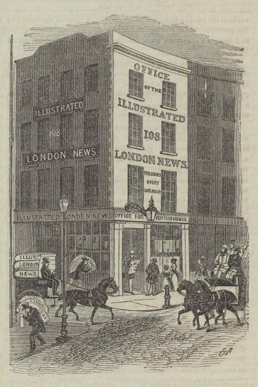 Office of the Illustrated London News--Giclee Print
