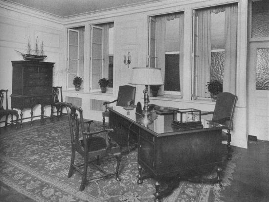 Office of the President, American Press Association, New York City, 1924-Unknown-Photographic Print