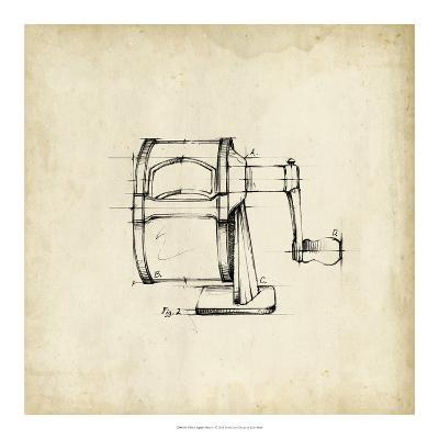 Office Supply Sketch I-Julie Silver-Giclee Print